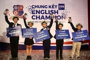 Cuộc thi English Champion bắt đầu thu tiền sau 6 năm miễn phí