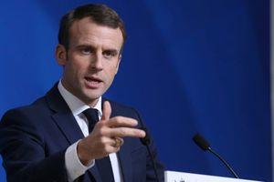 Tỉ lệ tín nhiệm Tổng thống Pháp Macron sụt giảm kỷ lục
