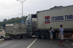 Nha Trang: Tai nạn giao thông liên hoàn trên đèo Rù Rì, 1 người bị thương nặng