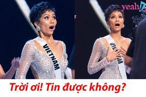 Biểu cảm để đời của H'Hen Niê khi được gọi tên trong Top 5 Miss Universe đủ để điểm lại loạt sự kiện chấn động trong năm qua
