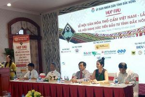 Lễ hội văn hóa thổ cẩm lần đầu tiên sắp diễn ra tại Việt Nam