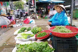 Đà Nẵng sau mưa lũ, giá rau xanh tăng mạnh