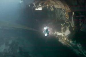 Khu trục hạm Na Uy chìm hẳn dưới đáy biển sau khi bị tàu chở dầu đâm rách thân