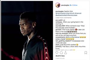 Pogba đăng ảnh ẩn ý, minh chứng bi kịch của Mourinho ở MU