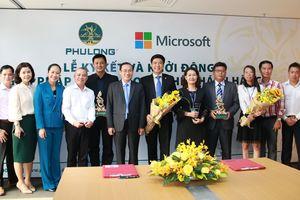 Phú Long ký kết hợp tác chiến lược với Microsoft Việt Nam