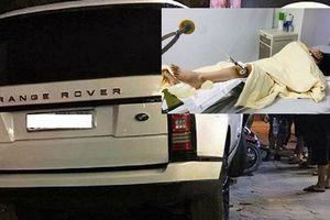 Hà Nội: Bắt lái xe Range Rover đâm gãy chân nữ sinh rồi bỏ trốn
