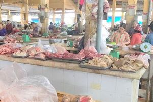 Giá thịt heo ở Nha Trang bất ngờ tăng mạnh