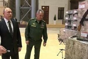 Putin, Đại tướng Shoygu sốc trước loạt 'bảo bối' của khủng bố Syria