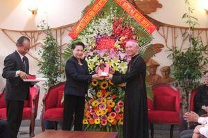 Chủ tịch Quốc hội Nguyễn Thị Kim Ngân chúc mừng Giáng sinh tại Giáo phận Xuân Lộc
