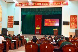 Hội thảo xây dựng Dự án Luật lực lượng Dự bị động viên