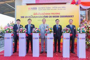 SHB khai trương chi nhánh ở Savanakhet (Lào)