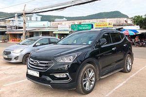 Hyundai SantaFe cũ 'dùng chán' bán 1,2 tỷ ở Hà thành