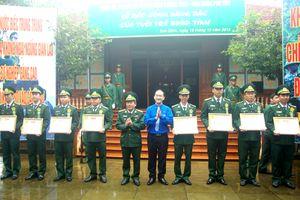 BĐBP Phú Yên tuyên dương 'Gương mặt trẻ tiêu biểu' năm 2018