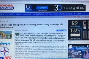 Lãnh đạo Hội Nhà báo Việt Nam đề nghị nhanh chóng điều tra làm rõ vụ việc