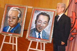 Chân dung các nghệ sĩ cải lương gạo cội qua tranh Trương Văn Ý