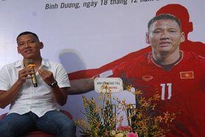 Cầu thủ Anh Đức: 'Hình ảnh tìm mẹ vào thơ là động lực lớn cho chính mình'