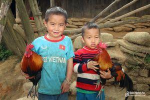 Độc đáo thú cưng của trẻ em bản vùng cao Nghệ An