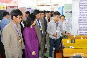 204 dự án tham dự cuộc thi Khoa học kỹ thuật cấp tỉnh