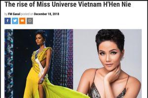 Báo quốc tế hết lời khen ngợi H'Hen Niê vào top 5 Miss Universe 2018