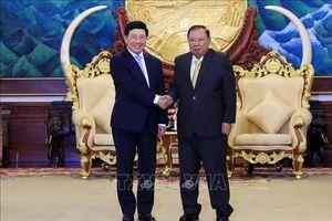 Quan hệ chính trị, đối ngoại Việt Nam - Lào ngày càng gắn bó, tin cậy