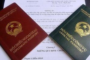 Bộ trưởng GTVT ra Quyết định, cấm công chức sử dụng hộ chiếu công vụ đi việc riêng