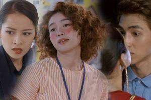 Vừa sang chảnh trong phim rạp, Lan Ngọc bỗng xấu xí hậu đậu - Chi Pu hôn Bình An trong trailer 'Mối tình đầu của tôi'
