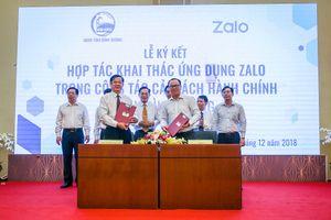 Bình Dương giải quyết các thủ tục hành chính bằng Zalo