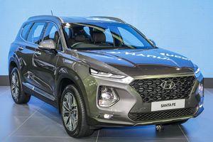 Hyundai SantaFe thế hệ mới có thêm công nghệ khóa vân tay