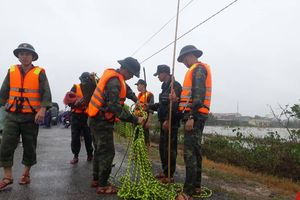 Quảng Trị: Tăng cường công tác thu gom chất thải sau mưa lũ