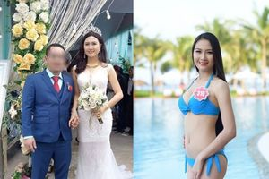 Cận cảnh nhan sắc 'Hà Hoa hậu' - người vừa kết hôn với đại gia sau hai tháng đi tu