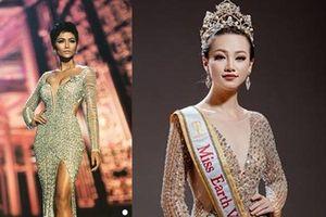 Chiếc váy tạo nên 'kỳ tích' cho 3 nàng Hoa hậu Việt Nam ở đấu trường nhan sắc quốc tế