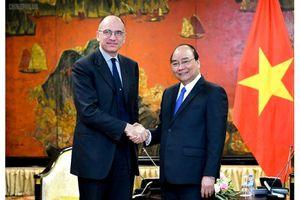 Thủ tướng tiếp Chủ tịch hiệp hội Italy - ASEAN