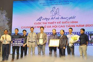 TP. Hồ Chí Minh trao giải thiết kế điển hình chung cư nhà ở xã hội cao tầng