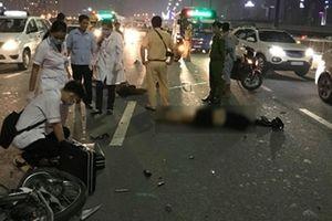 Báo động tình trạng xe máy đi vào làn ô tô gây tai nạn