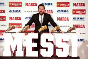 Vượt Ronaldo, Messi thống trị Giải thưởng Chiếc giày vàng châu Âu