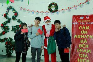 Ngày hội hiến máu 'Noel yêu thương'