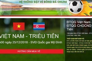 Cao nhất 300.000 đồng vé xem ĐT Việt Nam đá giao hữu tại Mỹ Đình