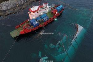 Chiến hạm Aegis để lộ lỗi gây sốc khi trục vớt