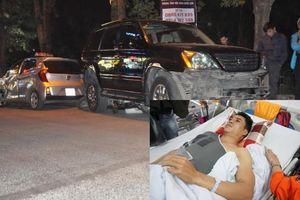 Đại úy CSGT kể lại giây phút nữ tài xế lái xe Lexus gây tai nạn kinh hoàng khiến 6 người nhập viện cấp cứu