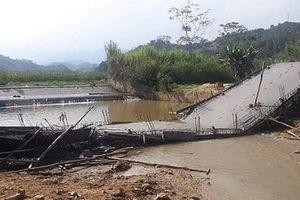 Đã xác định nguyên nhân dẫn đến cầu sập ở Yên Bái