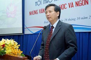 PGS.TS Đoàn Lê Giang: 'Ngày càng nhiều người nước ngoài học tiếng Việt'