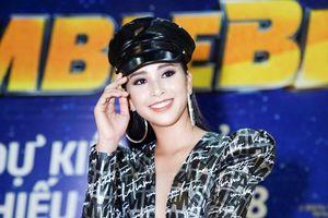 Hoa hậu Tiểu Vy gợi cảm, cá tính trong buổi ra mắt phim 'Bumblebee'