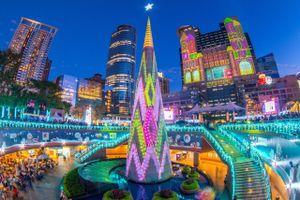 Vòng quanh thế giới, check-in ở 8 cây thông Noel nổi tiếng