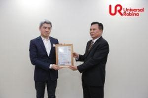 URC Việt Nam nhận các chứng chỉ về an toàn và chất lượng