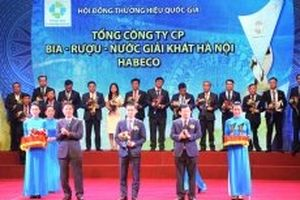 HABECO được vinh danh 'Thương hiệu quốc gia' lần thứ 4 liên tiếp