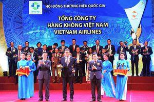 Vietnam Airlines được công nhận Thương hiệu Quốc gia