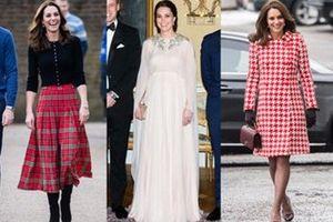Ngắm thời trang thanh lịch của Công nương Kate trong năm 2018