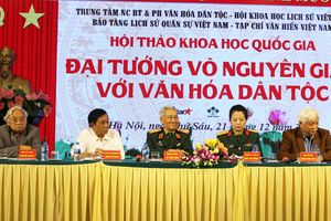 Khẳng định đóng góp của Đại tướng Võ Nguyên Giáp với văn hóa dân tộc