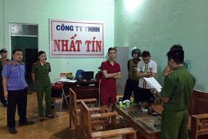 Công an tỉnh Gia Lai bắt 7 đối tượng cho vay nặng lãi