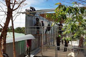 Tháo dỡ hơn 20 căn nhà 'mọc' trên đất lâm nghiệp ở Đà Lạt